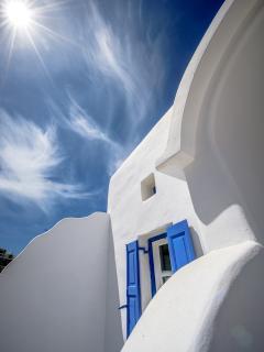 Mykonos Art Villas main entrance