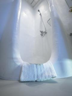 Mykonos Art Villas bathroom 3 shower