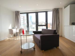 Spacious Aldgate East Studio apartment in Tower Hamlets with WiFi & lift.