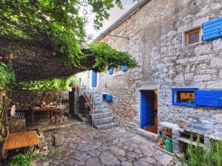 450 year-old house with vine-covered terrace, Stari Grad