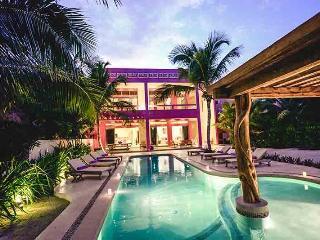 Stunning Beach Front Villa Alma Rosa, Jade Beach, Akumal - Chef Service