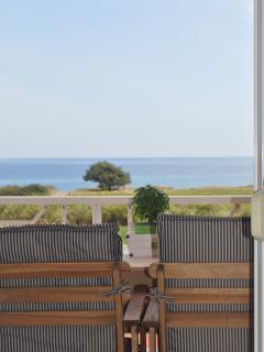 Villa Imerti - Balcony view main bedroom.