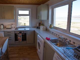 Kitchen with views over to Taransay