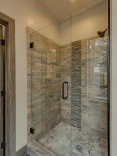 Cedar Vista - Master bathroom Tiled Shower