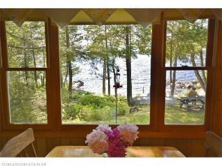 Private beachfront oasis on Green Lake near Acadia