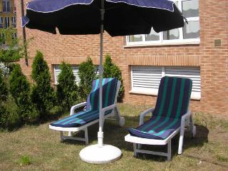Apartamento jardin privado y piscina comunitaria