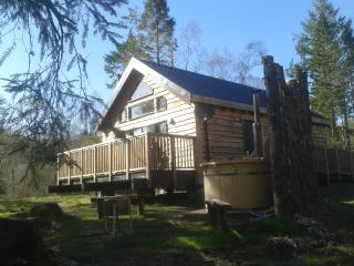 Burnside Cabin (no 33c), with hot tub