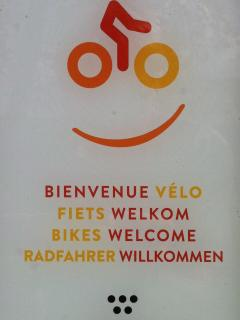 The label 'Bikes Welcome' is synonymous with services and facilities that are adapted for cyclists