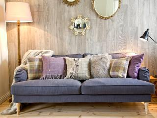 Large cosy sofa perfect for relaxing with a good book