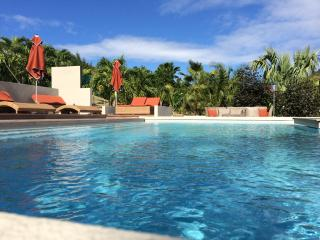 Clothing optional vacation in St Martin : the Jardin d'O