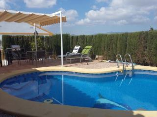 Very Private Bungalow With Pool, Wi-Fi and Air Con, Mazarrón
