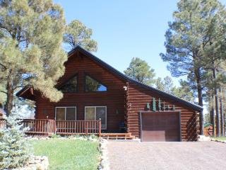 Oakwood offers the best of mountain living in this vacation cabin, centrally, Pagosa Springs