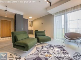 Design apartment with free parking and balcony, Tallinn