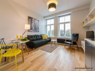 Amazing studio with aircon in Rotermanni quarter, Tallinn