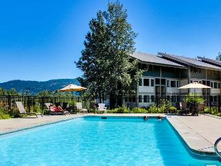 Condo w/shared pool, hot tub, & tennis on Lake Pend Oreille shoreline!