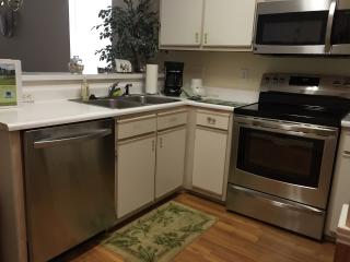 SS appliances for an upgraded kitchen