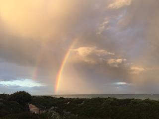 Spectacular rainbow, photo taken just 700m from the house