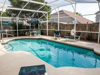 Private Pool with Privacy Fence