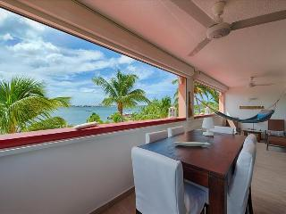 Bright, Spacious and Comfortable Duplex with Lovely Views on the Simpson Bay Lagoon, Sandy Ground