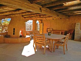Adobe Hacienda Main House Historic (1790) 6 miles south of Taos Plaza.