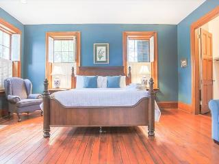 Centrally located home on Liberty Street, built in 1838 with private parking, Savannah