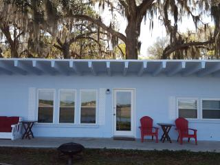 Waterfront  Remodeled Cottage on 18 Acres Fenced & Gated, Minutes from Ocean, Crescent