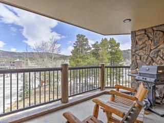 2BR Breckenridge Condo -Balcony & View of Mt Baldy