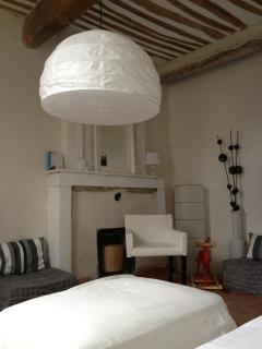 La Luberon: The living room