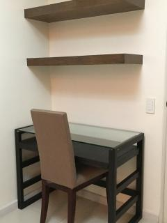 Work Station with Shelves