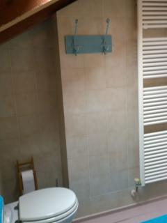 Bagno in comune con uso lavatrice - Shared bathroom. You can use the washing machine