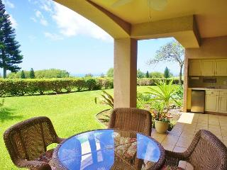 On Golf Course with Ocean Views From Covered Lanai! Waikoloa Fairways A110