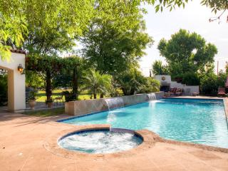 New Listing! Fashionable 2BR Peoria Gated Villa w/Wifi, Outdoor Fireplace & Relaxing Private Pool Oasis - Conveniently Located Near Major Sports Venues, Shopping, Golf, Dining & More!