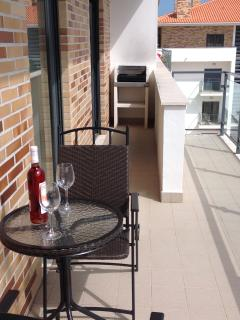 Side Terrace with BBQ