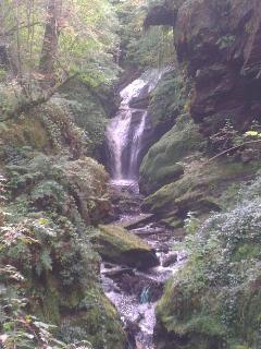 This is the Cynfal Gorge a short walk away