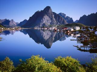 Reine Retrovilla at Reine in Lofoten