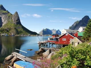 Reine Retro Villa-Cozy with a spectacular view