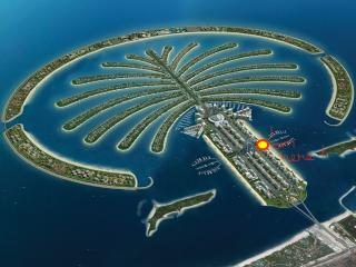 Don't Miss! Palm Resort & Free Beach Club Access!, Dubai