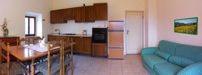 il grande soggiorno - cucina
