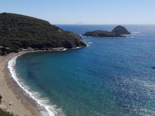 La spiaggia di Pareti