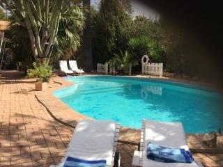 Poolrelaxing under andalusian sun