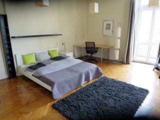 Central bright 3 bedroom 2 balcony, Budapeste