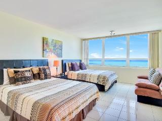 Oceanview studio w/beach access, resort amenities!, Miami Beach