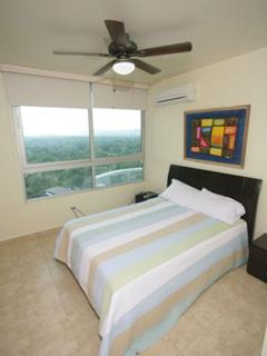 2nd bedroom with views of the countrside