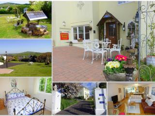 Marmalade Cottage with Sea, Countryside & Garden Views