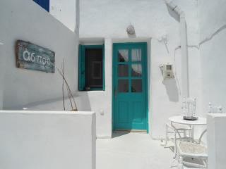 traditional home at the entrace of chora, Serifos