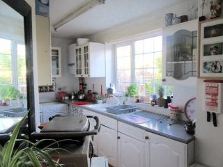 cosy sunny kitchen