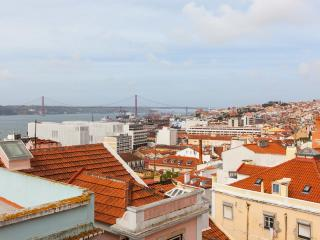 Janelas da Bica - magnificent tagus river view