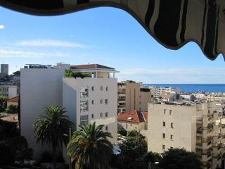 Beau Studio Cannes tout à pieds, avec terrasse