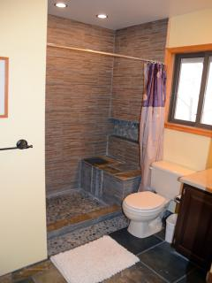 A great feature of the house is that every bedroom has a private full bathroom!