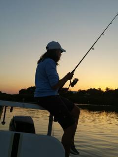 tavernier creek night fishing is excellant